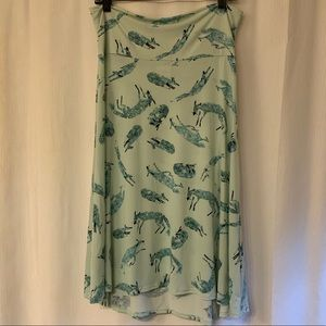 Fox Print Skirt 🦊